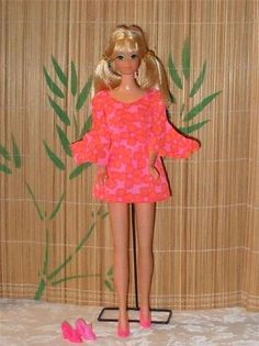 Mattel Barbie Doll Dolls 1960's Vintage P.J. Doll Fashion Doll...I had a talking P.J. in the same outfit and everything until my uncle pulled her string and she didn't talk anymore