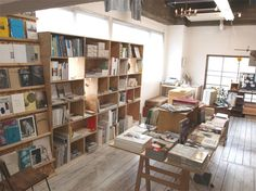 organized looking book shop