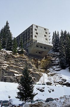Marcel Breuer's Hotel La Flaine from This Brutal World