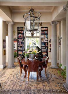[love the Floor design] Glamourous Cape Town Home Tuscany Style Homes, Floor Design, House Design, South African Homes, Interior Architecture, Interior Design, Pretty Room, Dream Decor, Home Fashion
