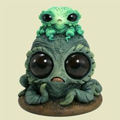 The Adorably Bizarre Resin Monster Statues of Chris Ryniak