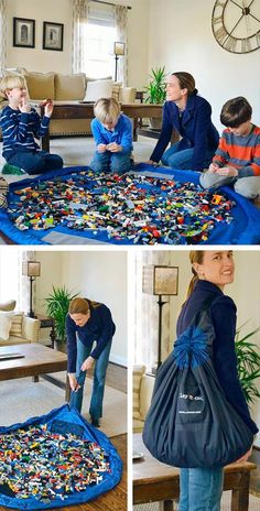 Amazing Lego Carrying Bag | 22 Crazy Ideas That Are Borderline Genius