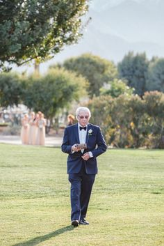 This 81-year-old grandpa was the ring bearer at his grandson's wedding.