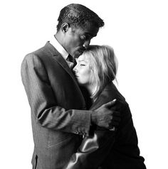 Sammy Davis Jr and May Britt (1960) by the Late Brian Duffy