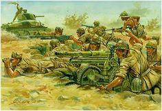 """Regio Esercito - La divisione Paracadutisti """"Folgore"""" contro i carri inglesi a El Alamein, 1943"""