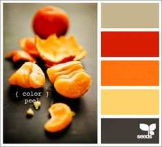 reds + oranges + greys