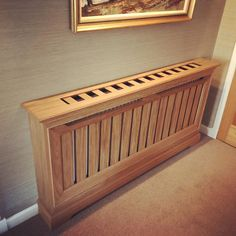 Radiator Heater Covers, Radiator Cover, Home Radiators, Cabinet Making, Bespoke Furniture, Dyi, Cabinets, Oxford, Woodworking