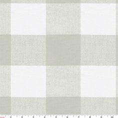 French Gray Buffalo Check Fabric by the Yard | Gray Fabric | Carousel Designs