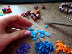 Tutorial: How to make polymer clay beads