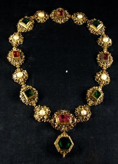Russian Crown Jewel Necklace