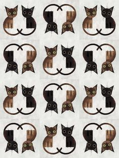 Pattern by Rebeca Lisiê (@dawtish). The drawing is not mine! Visit my profile, you're welcome ♥   #cat #kitten #animals #girls #cute #couple #wallpaper #pattern #gatos #gato #fofo #meninas #papeldeparede #animais