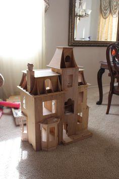 Beacon Hill Dollhouse WIP by dinobatfan