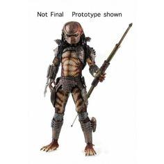 #transformer neca: predator 2: city hunter predator 1:4 scale action figure with led lights