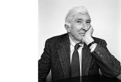 Brigitte Lacombe:  John Updike, Cambridge, MA, 1999