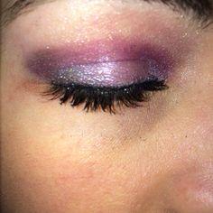 Beautiful purples!!! Long lashes!! www.sexylashesbysarah.com