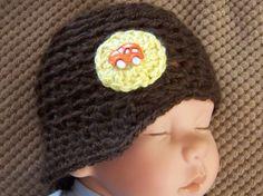 Crochet Baby Boy Newsboy Hat Infant Boy by crochethatsbyjoyce