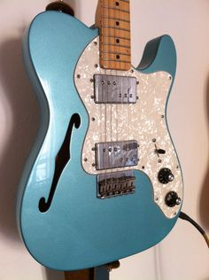 Fender telecaster teal green metallic
