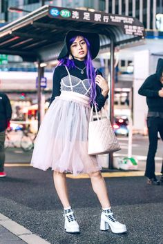 The Best Street Style From Tokyo Fashion Week Spring 2019 9248ab8f0e81