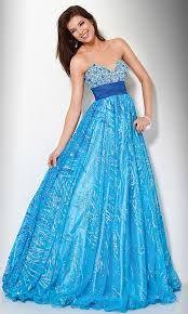 A Blue gorgeous flowing dress