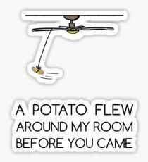 A Potato Sticker Meme Stickers, Tumblr Stickers, Cool Stickers, Printable Stickers, Laptop Stickers, Dont Touch My Phone Wallpapers, Cute Wallpapers, Stupid Funny Memes, Funny Quotes