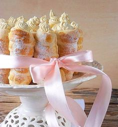 Cream Filled Pastry Horns
