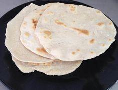 Receita de Tortilla de farinha de trigo
