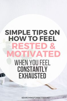How To Stop Feeling Constantly Exhausted, Lazy & Unmotivated - Searching For Better Feeling Lazy, Feeling Exhausted, Feeling Stuck, How Are You Feeling, I Am Always Tired, Constantly Tired, Feel Tired, Motivation Goals, Motivation Inspiration