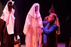 """Fabularia Teatro con  """"El Señor de Bembibre 2.1."""", en el Teatro Bérgidum (Ponferrada, León) IMAGEN: Quinito"""