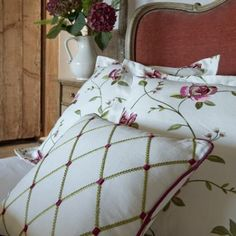 Viewing Tatton Linens Collection by Clarke & Clarke