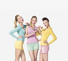 Printemps/Ete 2012: la collection 'Pin up' de Benetton!