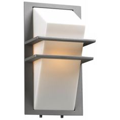 Brushed nickel frosted glass 11 14 high outdoor wall light juventas 13 12 high silver outdoor wall light aloadofball Choice Image