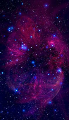 F = Gm1m2/r^2 — Velvet Nebula by StellarDia (me) This is one of...