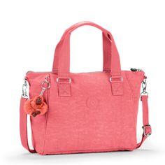 Bolsa de mão Amiel rosa Shell Pink Kipling