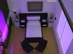 Resultado de imagen para dormitorio con iluminación maqueta
