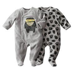 Pyjama à pieds en velours (lot de 2) R baby : prix, avis & notation, livraison. Pyjama à pieds en velours 75% coton, 25% polyester. Vendu par lot de 2 : 1 uni avec impression devant et ouvertures devant et entrejambe pressionnées + 1 imprimé ''monstres'' et ouvertures pont et dos pressionnées. Pieds antidérapants à partir de 12 mois (74 cm), élastiqués au dos pour un meilleur maintien.