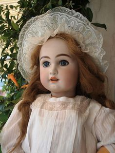 "Antique Doll French TeTe Jumeau, size 15 , 32"" tall (80 cm)!"