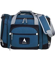 AlphaCool 12Can Convertible Duffel Cooler Blue 24 Can * Check this awesome product by going to the link at the image. (Note:Amazon affiliate link)
