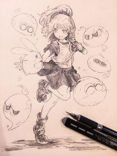 メディアツイート: みつまよ(@mitsumayo)さん | Twitter Manga Drawing, Manga Art, Poses References, Anime Sketch, Character Design Inspiration, Anime Art Girl, Copics, Cute Drawings, Kawaii Anime