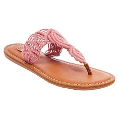 Women's Mad Love Lee Thong Sandals - Washed Red 10