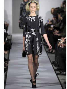 Fashion Week, New York, Fall/Winter, 2012, Mercedes-Benz, nyfw, Mercedes-Benz New York Fashion Week Fall/Winter 2012, runway, catwalk, models, Oscar de la Renta