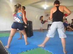 Primeiro treino de Muay Thai - Pvh - YouTube