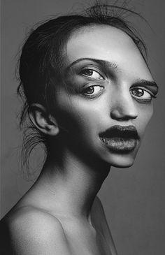flora borsi 'detouches' female fashion portraits with a surrealist slant