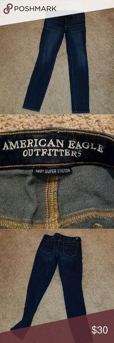 Hi-rise Jeggings New American eagle hi-rise leggings size 12 American Eagle Outfitters Jeans Skinny