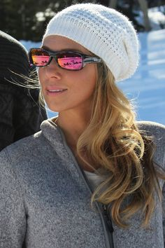 Mooya Mother Pearl (Purple Mirror) fitover sunglasses by Jonathan Paul® are perfect for adventures in the snow. With 100% UVA/UVB protection, durable polycarbonate lenses and TR-90 Crystal Nylon™ frames, and 35 mirror lens styles, they're the best sunglass for your winter adventures!