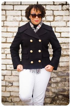 Review: Vogue 2873 (OOP) | The Pea Coat! | Erica B.'s - D.I.Y. Style!