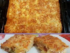 Λαχταριστή Πίτσα με φύλλο κρούστας !!! Cookbook Recipes, Cooking Recipes, Savory Muffins, Food Dishes, Lasagna, Sweet Recipes, Macaroni And Cheese, Bakery, Recipies