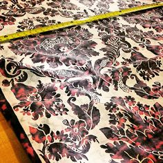 Morning cuts #Fabric #Design #Pattern #Decor #Fortuny