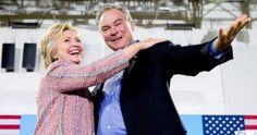 If Chosen as Hillary's VP, Tim Kaine Would Be Invisible