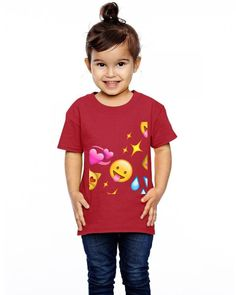 emoji Toddler T-shirt