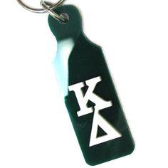 Kappa Delta Sorority Mirror Paddle Keychain